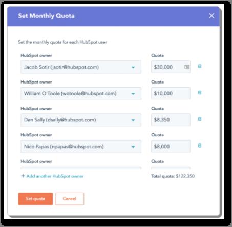 An Easier Way to Update Sales Quotas in HubSpot CRM