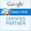 Google Analytics 認定パートナー